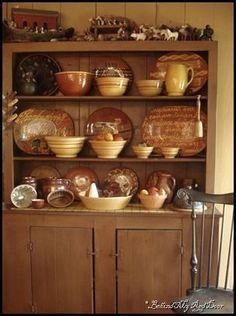 Primitive Kitchen Decor, Primitive Homes, Prim Decor, Primitive Furniture, Primitive Antiques, Rustic Decor, Primitive Cabinets, Primitive Bedroom, Primitive Quilts