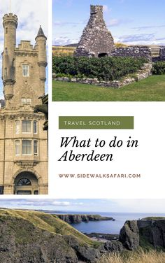 Learn about what to do in Aberdeen Scotland. Travel Aberdeen. Discover  things to do in Aberdeen including day trips from Aberdeen. Explore  beautiful Aberdeen Scotland. #Aberdeen #Scotland #UK Aberdeen Scotland, Scotland Uk, Scotland Travel, Weekend City Breaks, Stuff To Do, Things To Do, European City Breaks, Day Trips From London, Travel Around Europe