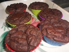 Cupcake de chocolate lowcarb! ~ Resolvi comer
