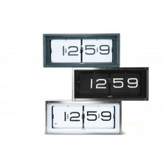LEFF Amsterdam Brick Wall/Desk Clock