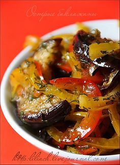 Spicy Eggplant - well me oh my I have some eggplant in the fridge... YUM!