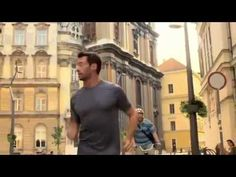 Hugh Jackman in Budapest, Hungary - Lipton Ice Tea commercial Video