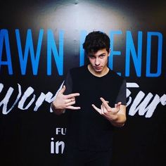 Shawn During His Meet And Greets In Manila❤