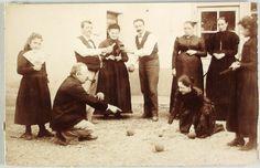 ca; 1900 Jeu de boules