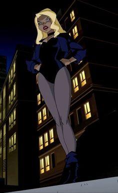 Black Canary by Bruce Timm. Dc Comics Characters, Dc Comics Art, Comics Girls, Marvel Comics, Black Canary Comic, Arrow Black Canary, Bruce Timm, Comic Books Art, Comic Art