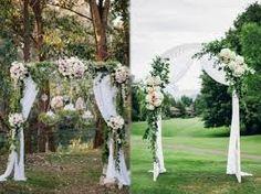 Resultado de imagen para ceremonias de boda con toldo y altar