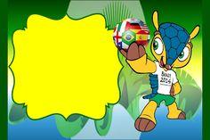 Fazendo a Propria Festa: KIT PERSONALIZADOS TEMA COPA DO MUNDO DA FIFA 2014...