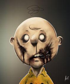 Zombie Charlie Brown