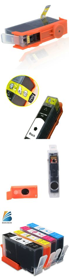 Bosumon 655 Ink Cartridge Compatible for HP 655 Replacement for HP Officejet 3525 4615 4625 5525 6525 Printer With chip (a set)
