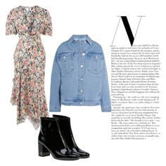 """""""Untitled #136"""" by hibiah on Polyvore featuring Topshop, Yves Saint Laurent and Topshop Unique"""