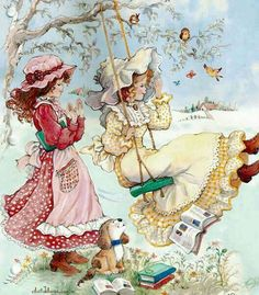 Hobby For College Students - Hobby Horse Udstyr - Winter Hobby DIY - Free Hobby Ideas - - Holly Hobbie, Hobbies To Try, Hobbies For Men, Vintage Pictures, Vintage Images, Vintage Cards, Vintage Postcards, Hobby Horse, Cute Illustration
