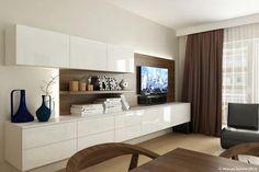 Living Room Shelves, Living Room Decor, Attic Bedroom Closets, Girls Room Organization, Living Room Tv Unit Designs, Best Home Interior Design, Muebles Living, Tv Wall Decor, House