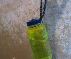 This instructable is to show you how to make a wrist strap to hold your Nalgene or similar water bottle. (My First Instructable)