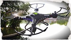 ★ JJRC H8C ◘ Testaufnahme der CAM ★ RC Modellbau Quadrocopter ...
