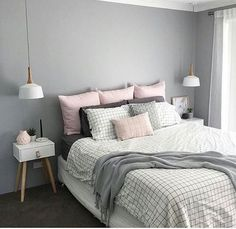 light grey accent wall