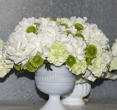 white cream ivory wedding flowers