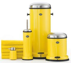 Stylish Trash Cans for Kitchens and Bathrooms from Vipp