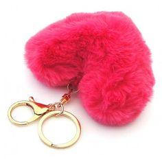 Cool Keychains, Love Keychain, Craft Closet Organization, Dream Catcher Decor, Cute Teddy Bears, Fur Pom Pom, Little Girl Dresses, Summer Dresses For Women, Phone Cover