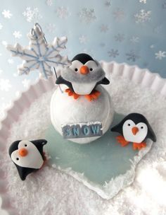 Penguin Snow Day | Polyform Products Company