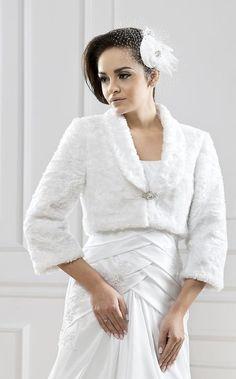 Wedding winter jacket