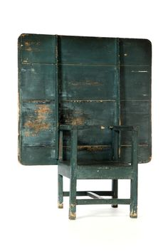 incredible early hutch table with superb early dry paint                                 ****