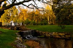 The Happy couple on the foot bridge at Castlemartyr Golf Courses, Bridge, Sidewalk, Couple, River, Mansions, House Styles, Day, Photography