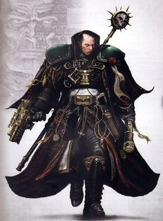 Inquisitor Eisenhorn. The ultimate bad ass!!