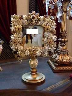 Jeweled Photo Frame♥