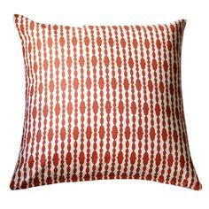 I pinned this Raindrops Pillow in Tangerine Orange from the Breezy Bedroom event at Joss and Main!