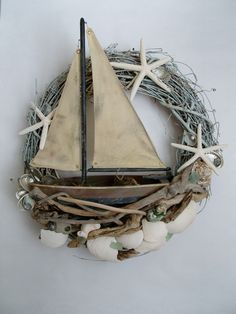 Gorgeous wreath via Marjorie Stafford Design - Hidden Treasures Series