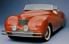 Chrysler 1940 LeBaron Newport Phaeton concept. @designerwallace