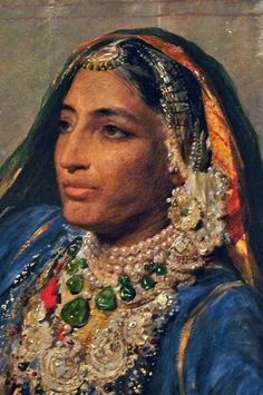 Maharani Jind Kaur (1817 – 1863) was the beautiful, courageous and tragic wife of Ranjit Singh, the king of the Sikh Empire. The empire fell apart 10 years after his death and was annexed by the British, although she led many military campaigns fighting the colonization.