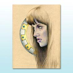 Xena Warrior Princess Lucy Lawless Illustration Female Role Model Feminist Art Warrior Woman Xena Art