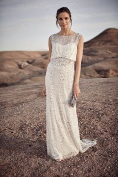 Wedding Dresses for less than $1000 | Hope Dress by Phase 8 | Bridal Musings Wedding Blog