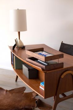 home tour inside an interior designers midcentury renovation mid century modern officemodern century office equipment