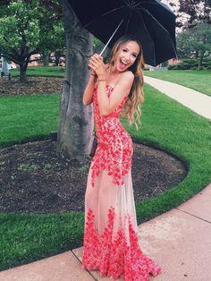 Tulle Prom Dress, Strapless Prom Dress, 2017 Long Prom Dress, Beautiful Prom Dress MK533