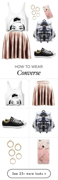 """Unpredictable"" by numbwing on Polyvore featuring Boohoo and Converse"