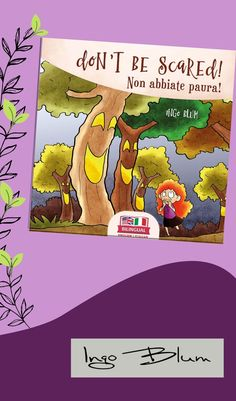 If you're looking for a book that combines reading, listening, coloring and learning, this is the book for you! For all children learning English or Italian as a second language. The vivid color illustrations and the fun and scary story make for an entertaining and educational experience. The text is simple and easy to understand to grab a kid's attention. Please visit: www.ingoblum.com. #childrenillustration #illustration #story #drawing #illustrator #kidlit