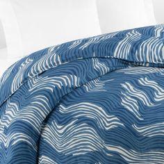 Diane von furstenberg contours duvet blue bloomingdale s