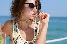 Gilochka: Super Round Cat Eye Indie Sunglasses 8524