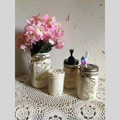Who doesn't love handmade mason jars?! Mason jars have many uses so place them everywhere in your home.