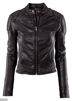 H Girl with the Dragon Tattoo Leather Jacket - black: If anyone wanna sell this jacket... contact me :)