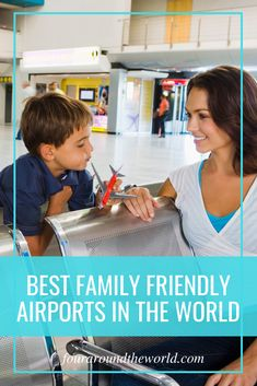 Flying with kids can be a challenge already, so family-friendly airports can make a big difference. Travel experts share their favourite kid friendly airports in the world & what makes them great. Travel With Kids, Family Travel, Travel Nursery, Flying With Kids, Travel Toys, Travel Activities, Business For Kids, Travel Around The World, Friends Family