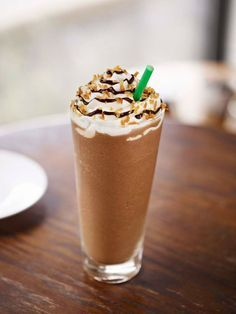 Healthier copycat Mocha Frappucino 1 1/2 cups crushed iced 2 tbsp dark cocoa powder or 1/4 cup 70% or higher dark chocolate chips, melted ¾ cup strongly brewed coffee or one s...