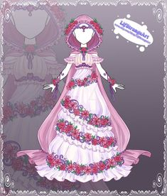 [Close] Adoptable Outfit Auction 175 by LifStrange on DeviantArt Floral Drawing, Dress Drawing, Drawing Clothes, Unique Drawings, Amazing Drawings, Fashion Design Drawings, Fashion Sketches, Dark Costumes, Cartoon As Anime