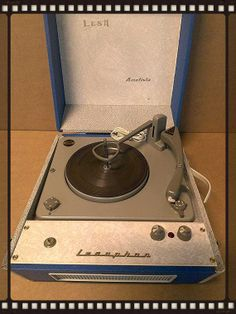 Portable record player Lesa Ametista