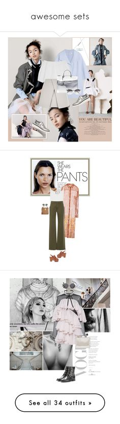"""""""awesome sets"""" by aaliyah ❤ liked on Polyvore featuring KaufmanFranco, Paper London, River Island, Jil Sander, STELLA McCARTNEY, Prism, Loewe, Zimmermann, Mark Cross and Beautiful People"""