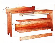 Cheryl Long shares how to build this indoor grow light plant stand, a multipurpose piece of furniture that acts as an all-in-one bookcase, seed-starting shelf and houseplant display case.data-pin-do=