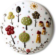 Appliqued stories – Polymer Clay Daily