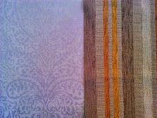 Coordinado #papel pintado Hall y tapizado para butaca.